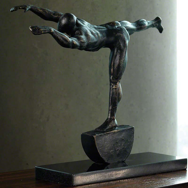 Iron Stretch Sculpture - 8.81355