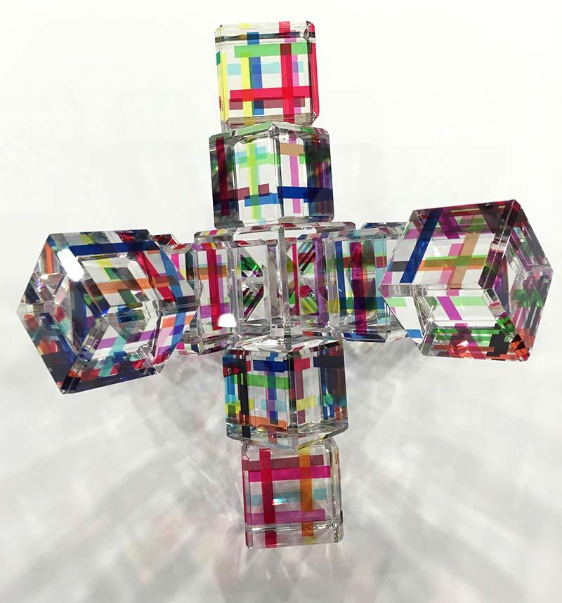 Crystal Jax by Harold Lustig on White Background