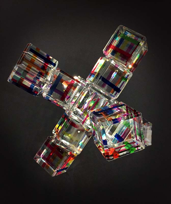 Crystal Jax by Harold Lustig on Black Background
