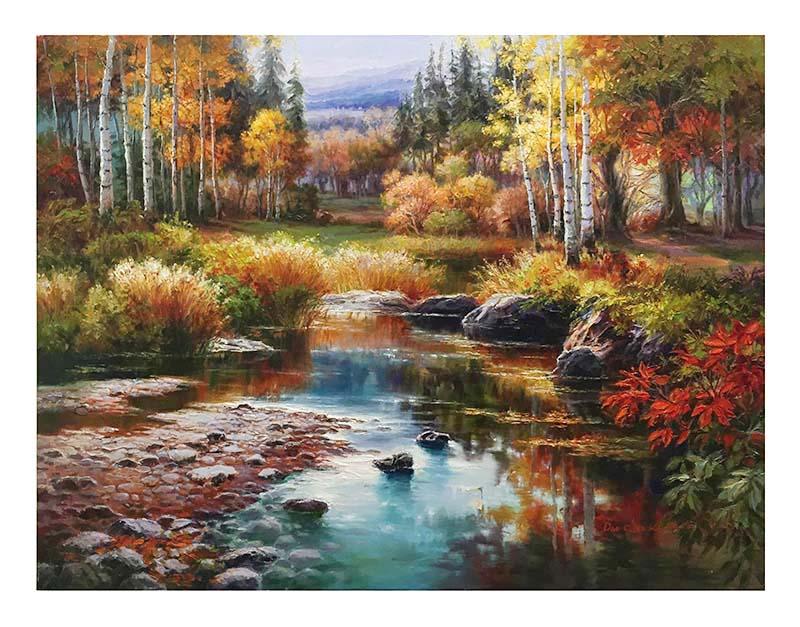 Jewel River by Dae Chun Kim, Overview