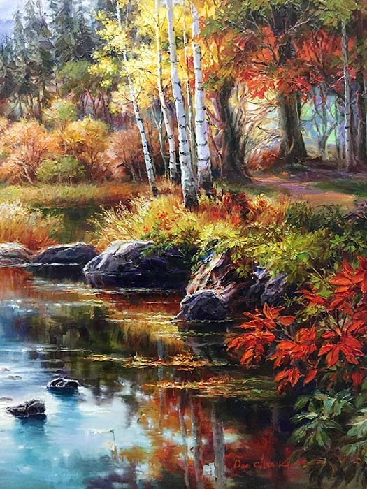 Jewel River by Dae Chun Kim