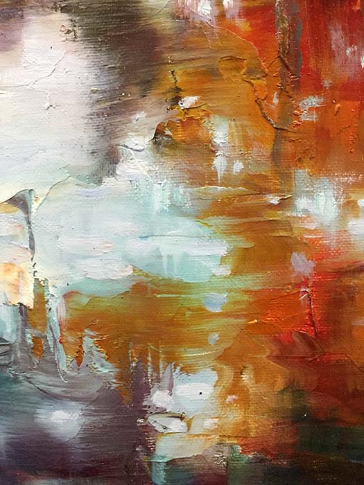 Jewel River by Dae Chun Kim, Texture