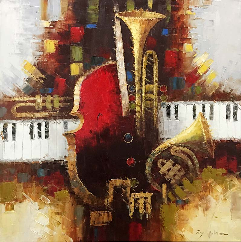 Keys of Harmony I by Tony Anderson, Overview