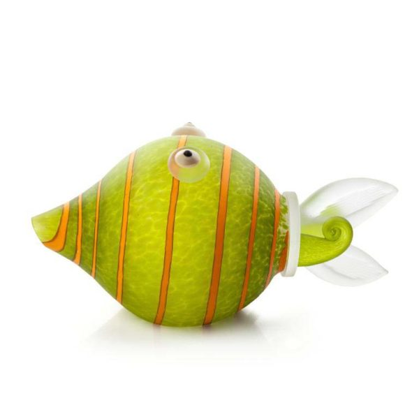 Koi Table Lamp: 24-51-11 in Lime Green