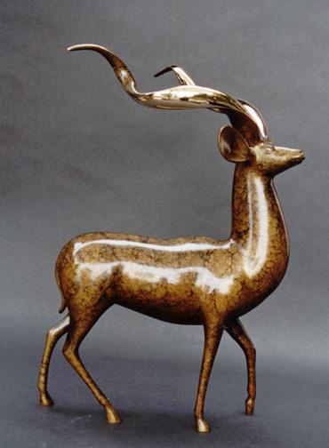 Kudu, Standing - Sculpture #417