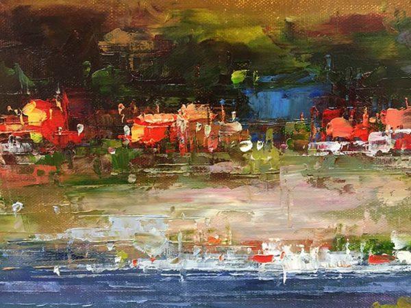 Lakeside by Van Matino. Detail