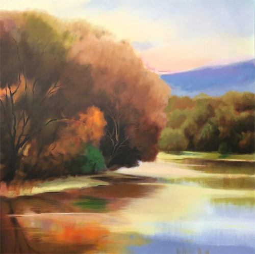 Lakeside Trees by Robert Striffolino, Overview
