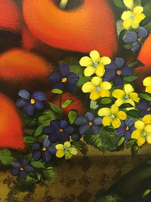 Fresh Garden Bouquet by Lun Tse, Detail