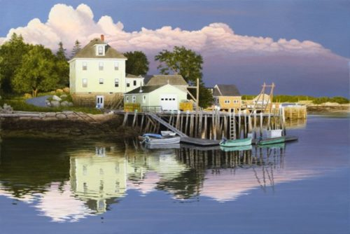 Late Evening in Maine - Limited Edition