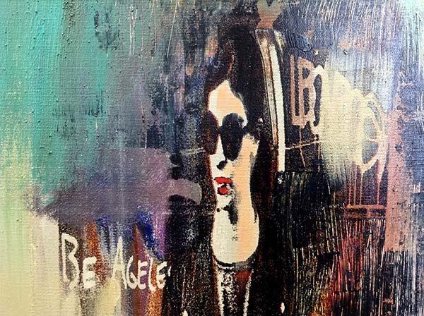 Le Donne - Original Oil Painting, View 2
