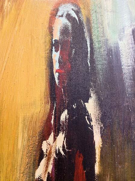 Le Donne I - Original Oil Painting, View 2