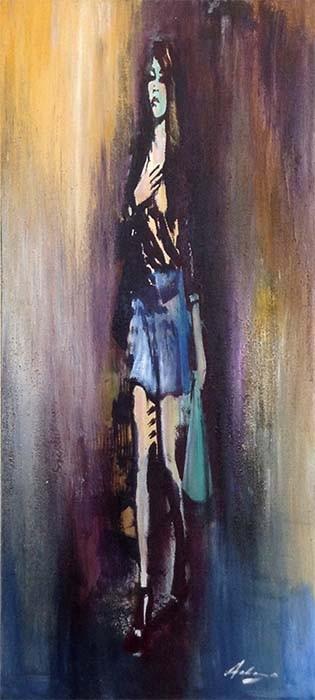 Le Donne II - Original Oil Painting, View 1