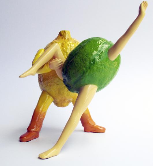 Lemon Merengue - Limited Edition Resin Sculpture
