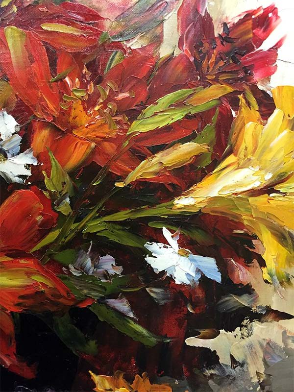 Lily Bouquet by Jamie Lisa, Detail