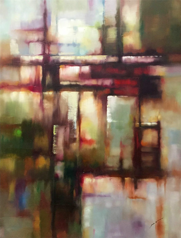Linear Motion I by Jeff Dixon