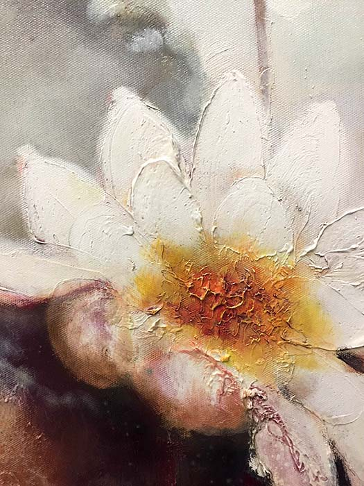 Lotus Blossom by Stefan Yi, Detail