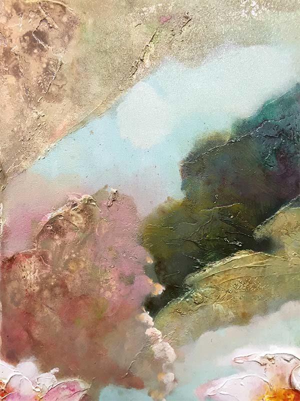 Lotus Flowers III, Texture