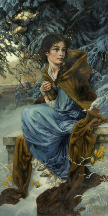 Love Blooms in Winter by Heather Theurer