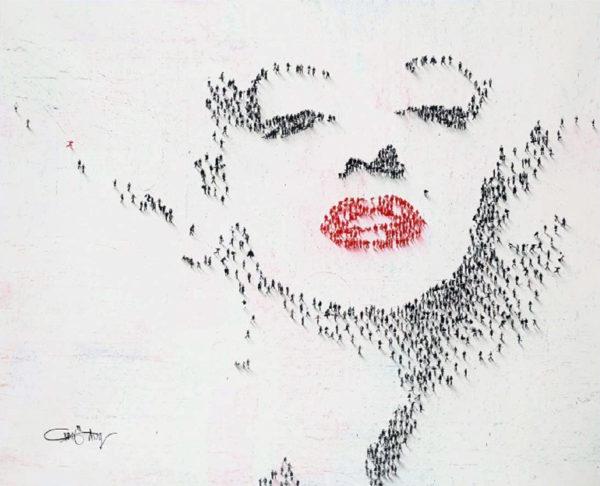 Craig Alan Painting, Marilyn Monroe: Lucky Blonde, Populous Series