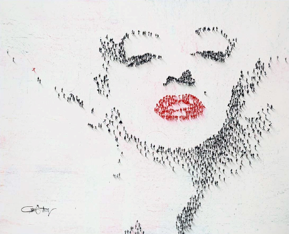 Craig Alan Painting, Marilyn Monroe: Lucky Blonde, Populous Series
