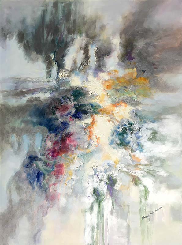 Luminous Dream I by Sung Min Kim, Vertical