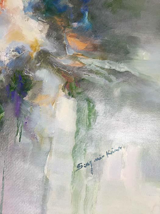 Luminous Dream I by Sung Min Kim, Signature