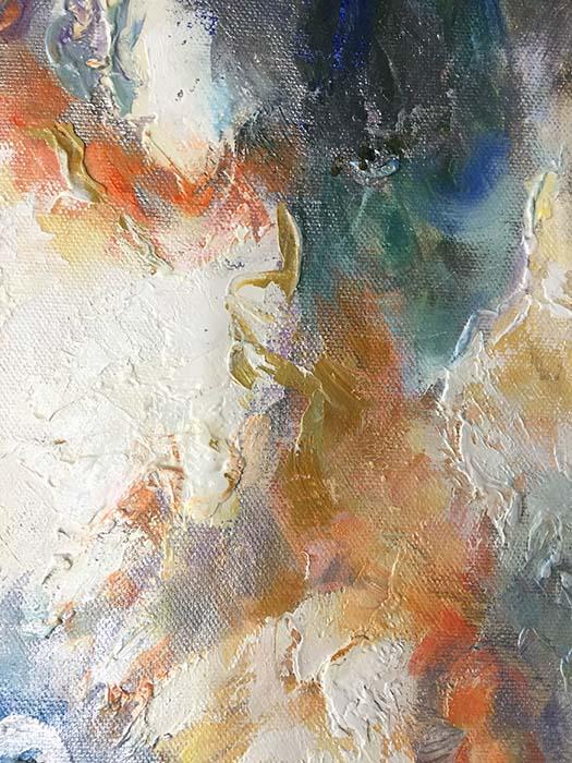 Luminous Dream I by Sung Min Kim, Texture