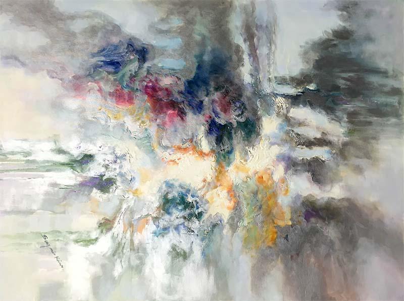 Luminous Dream I by Sung Min KimLuminous Dream I by Sung Min Kim, Horizontal