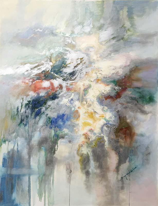 Luminous Dream II by Sung Min Kim, Vertical