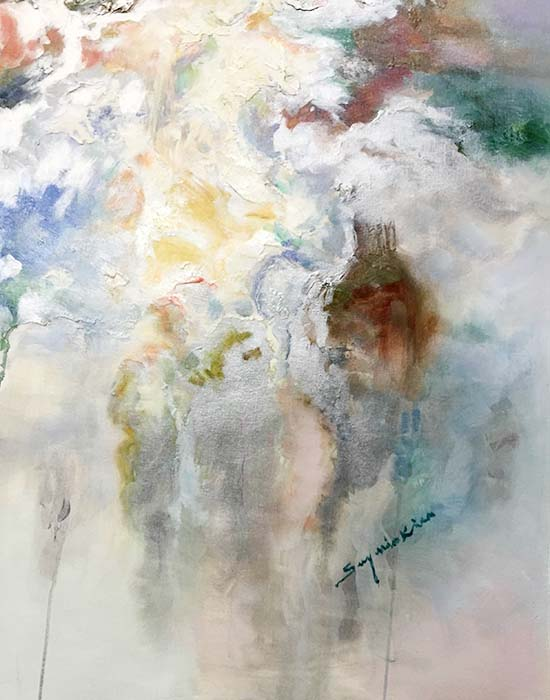 Luminous Dream II by Sung Min Kim, Signature