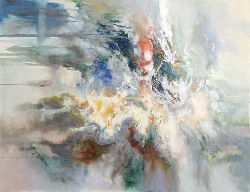 Luminous Dream II by Sung Min Kim, Horizontal
