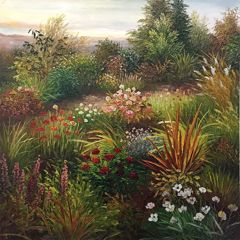 Luscious Garden by Evans, Overview