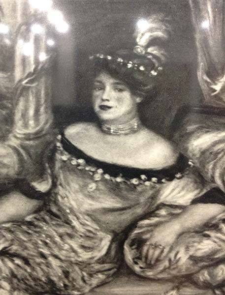 Pierre-Auguste Renoir - Madame de Galea, Detail