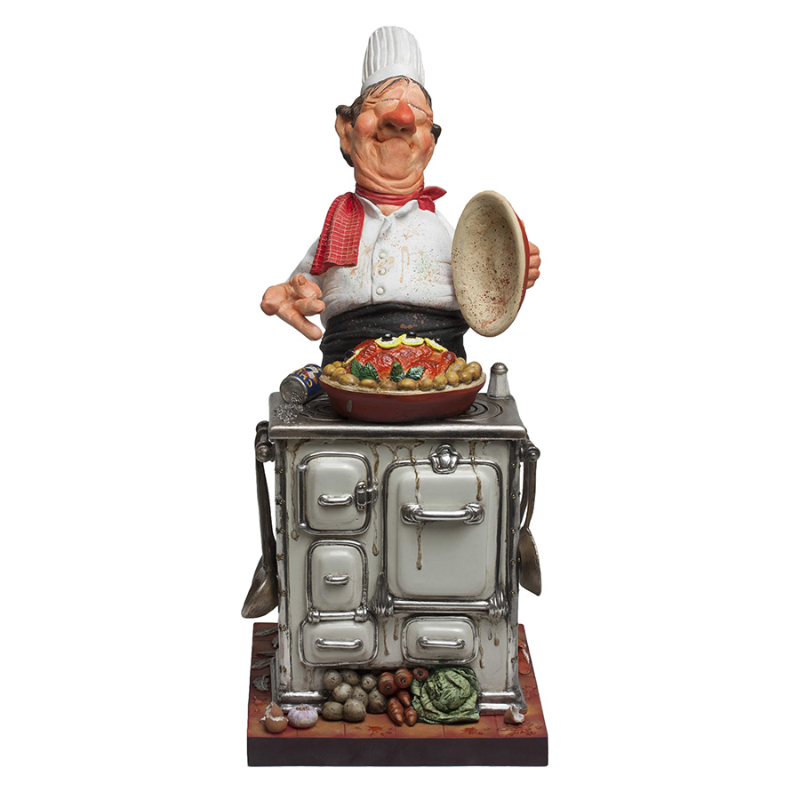 Master Chef - Mixed Media Sculpture, View 1