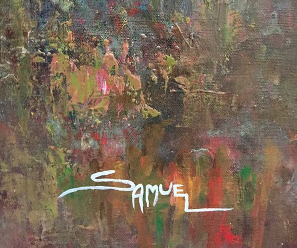 Misty Valley by Samuel, Signature