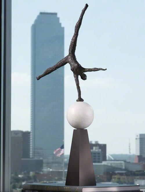 Modern Acrobat Sculpture - 8.80578