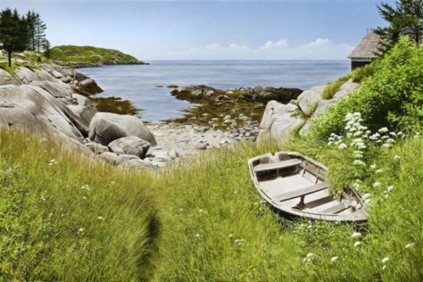 Monhegan Low Tide - Limited Edition