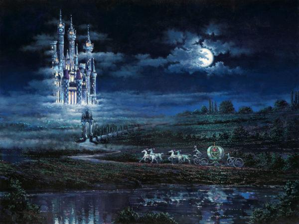 Moonlit Castle by Rodel Gonzalez