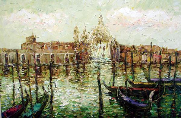 Morning in Venice by Kostantin Savchenko