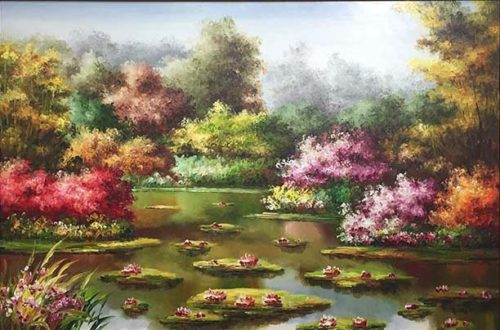 Water Lilies IV by Mulio, Overview
