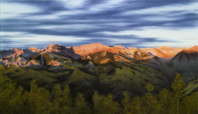 Night Flight Over Telluride - Collector's Edition