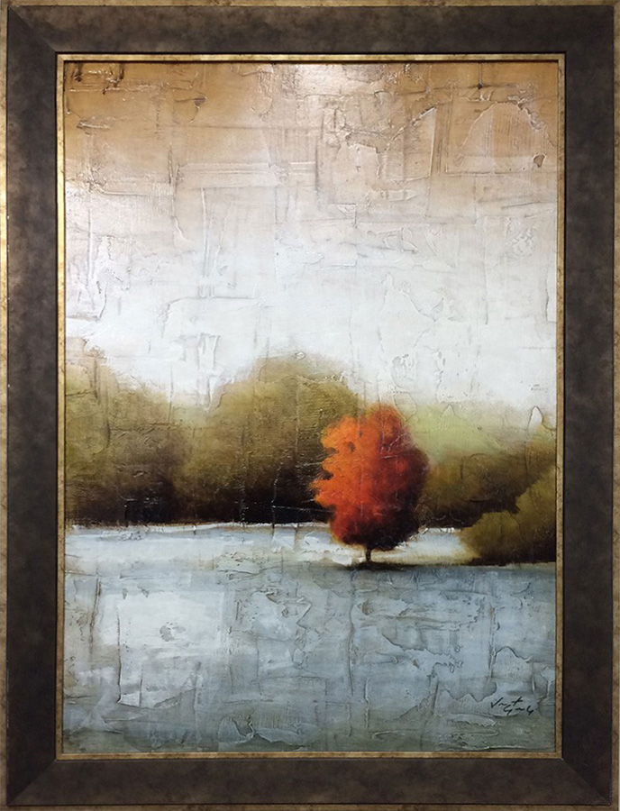 Open Air I - Original Painting, Framed