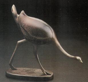 Ostrich - Sculpture #122