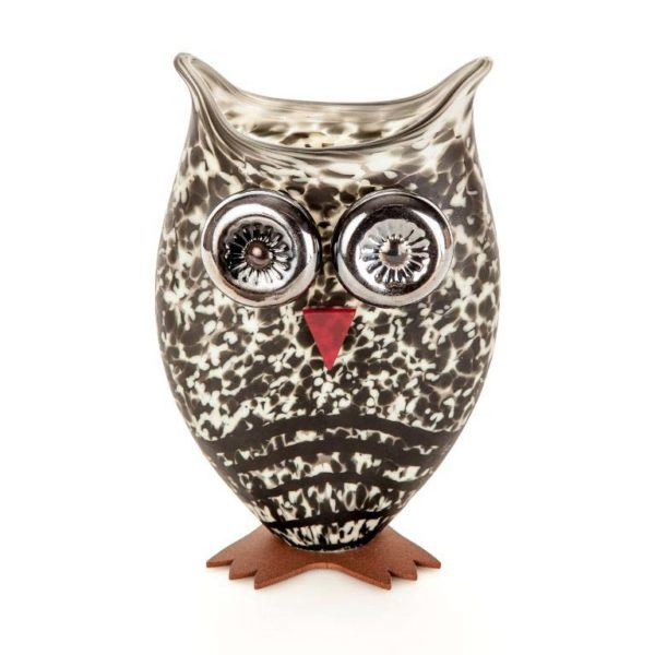 Owl Vase: 24-03-77 in Beige