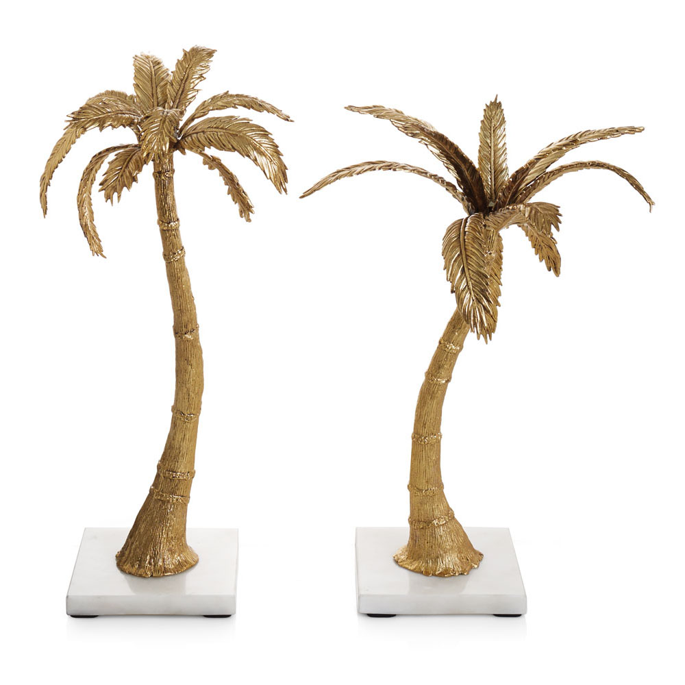 Palm Candleholders, Item #174911