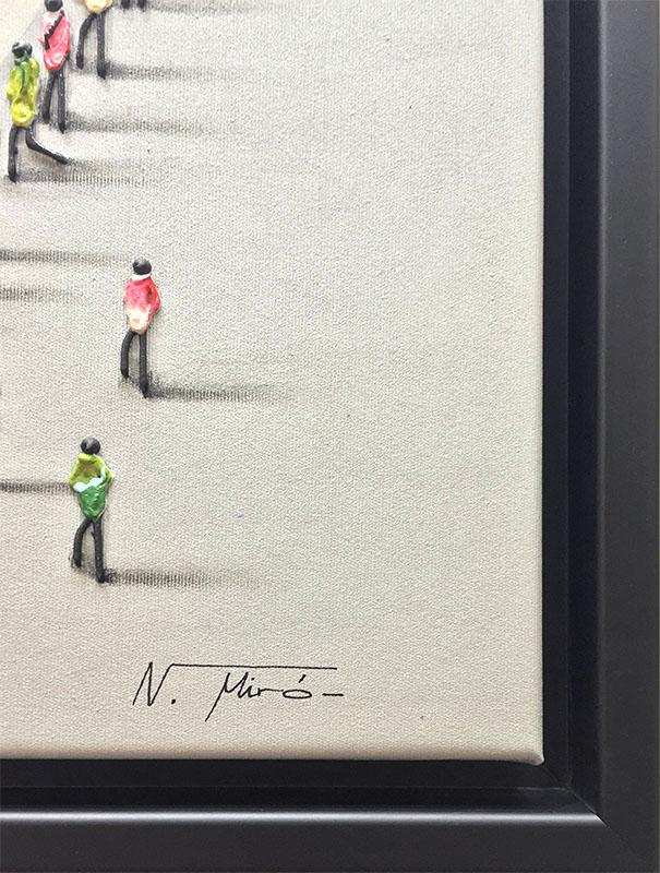 Peace by Nuria Miro, Signature