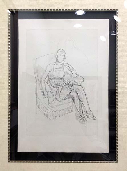 Henri Matisse - Planche X, Detail