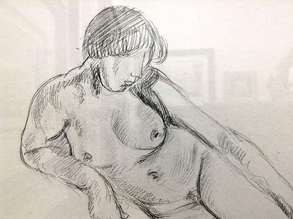 Henri Matisse - Planche XLV, Detail