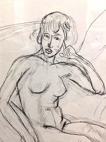 Henri Matisse - Planche XI, Detail