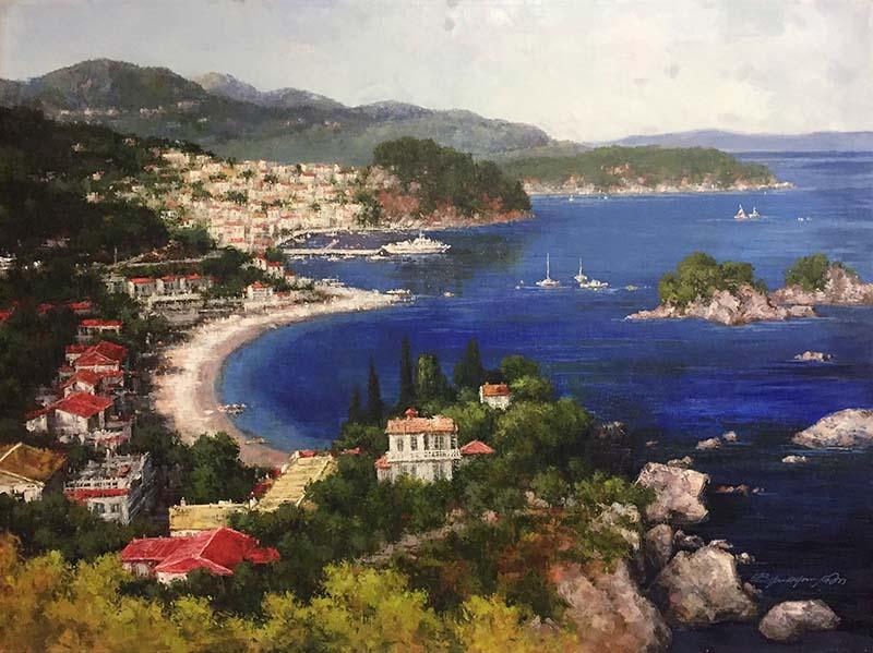 Portofino by Bryan G. Young, Detail